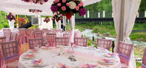 Table Arrangements For Wedding Receptions